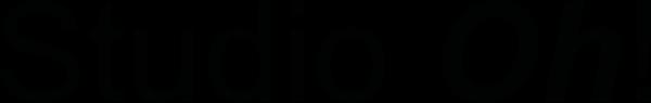 studio oh logo zwart